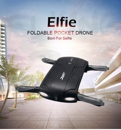 Wholesale JJRC H37 Elfie Alitude Hold Wifi FPV MP Camera Foldable Pocket Drone RC Quadcopter