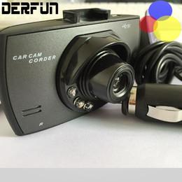Cámaras de lentes de porcelana en Línea-Camara de coches hd coche dvr 2.4 '' cam cámara grabadora 720p dashcam con 6 lente de enfoque fijo