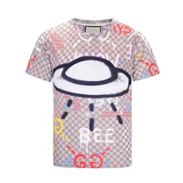 Leisure T-Photos 17ktv fashion Wave Of Men Floral Print Colour parblo Mixture Luxury Men's T-Shirts Casual Harajuku Long Men's Medusa M--2XL