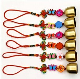 Free Shipping(1 pcs set)Chinese Style Wind Chime Butterfly Wind Bell Evil Spirit Crafts Home & Car & Bag Decoration Doorbell