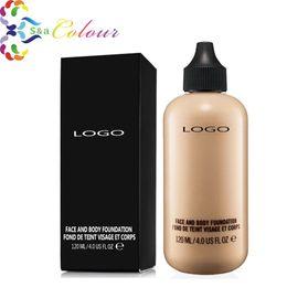 Wholesale 2016 NEW Hot sale Professional Makeup Liquid Foundation Face And Body Foundation Fond De Teint ml