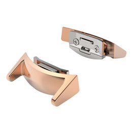 Wholesale Superior en acier inoxydable Connecteur Connect mm Watch Band pour Samsung Gear S2 RM juillet
