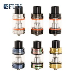 Wholesale 100 Authentic SMOK TFV8 Big Baby Tank ml Adjustable Airflow Top Filling Electronic Cigarette Atomizer Fit for W SMOK G priv Mod