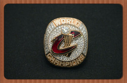 Wholesale Newest Design For Cleveland James MVP Cavaliers National Basketball Championship Ring For Christmas Gifts