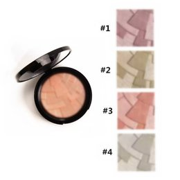 Wholesale 2017 New Makeup Bronzers Highlighters ILLUMINATOR Professional Face Pressed Powder Colors g Good quality DHL