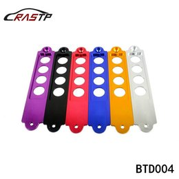 Wholesale RASTP Aluminium Racing Car Battery Tie Down for Password JDM for Acura RSX Black Red Blue Purple Gold Silver RS BTD004