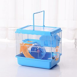 2017 Hot sell Free shipping Castle hamster cage Travel carry Novice practical cage hamster accessories High-end atmosphere