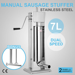 Wholesale Professional L Sausage Filler Stuffer Vertical Stainless Steel Salami Maker