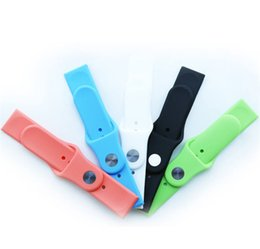 Hot sale 42mm multi colors soft rubber silicone watch strap for apple watch sport band with strong apple adapter