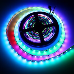 Couleur de rêve magique en Ligne-WS2811 LED DRIVE 5050 SMD RGB LED 30/60 leds / m 5 M DC 12 V Magic Dream Color Addressable Digital Dia