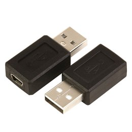 Wholesale 100pcs lot USB 2.0 A type male to Mini 5pin USB B type 5pin female Connector Adapter convertor