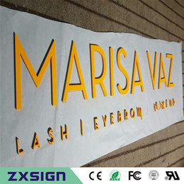 Outdoor or Indoor 9mm thick PVC letters with the painting for decoration, small sizes letters
