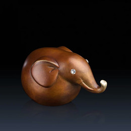 Copper ornaments lovely elephant Home accessories copper handicraft Home Décor Home & Garden Novelty Items Like all copper ornaments