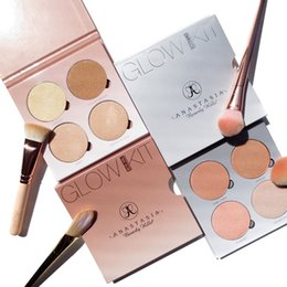 Wholesale Ana Beverly Hills Glow Kit Gleam That Glow Palette Colors High Quality Bronzers Highlighters Palette Face Makeup Powder