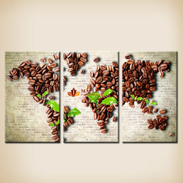 Free Shipping Hot Sale Originality World Map Painting On Canvas Wall Art Canvas Prints Painting Pictures Decor For Living Room Modern Art