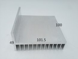 Wholesale Customized most welcomed new design Extrusion profile Extrusion Aluminum Heat Sink Manufacturer heat sink aluminium Aluminum