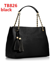 Chain bag women s handbag en Ligne-Femmes en cuir sacs à main double personnalité T Sacs à main célèbres de sac à main de femmes de sac à main de marque TB de marque 826.
