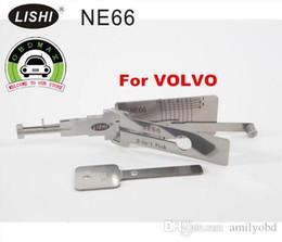 Recoge volvo en venta-Venta caliente LISHI NE66 2-en-1 auto pick y decodificador para VOLVO