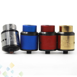 Best 528 Goon Lost Art Edition RDA Atomizer 24MM GOON Lostart with Wide Bore Drip Tip Peek Insulators fit 510 Mods DHL Free