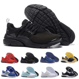 Wholesale Air PRESTO BR QS Breathe Black White Mens Basketball Shoes Sneakers Women Running Shoes For Men Sports Shoe Walking designer shoes