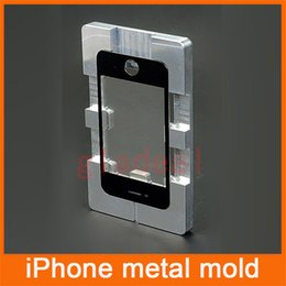 Wholesale Quality Aluminium Alloy Metal Mold Mould for iPhone S C plus S plus LCD Touch Screen Separator Repair Refubish Machine Tool
