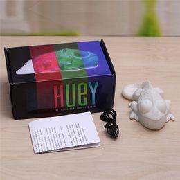Wholesale Best Gift Huey the Color Changing Chameleon LED Lamp Children Kids Baby Sleep Lighting USB Lamp Led Toys