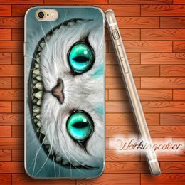 Capa Smile Cat Soft Clear TPU Case for iPhone 7 6 6S Plus 5S SE 5 5C 4S 4 Case Silicone Cover.