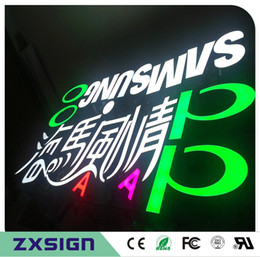 Outdoor super high brightness expoy resin led light letters decoration, high brightness small led letters