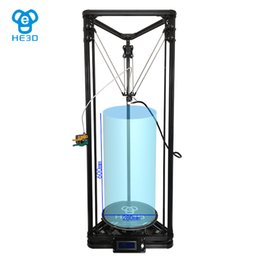 Wholesale Auto Level He D The Complete delta d printer kit Newly upgraded metal nozzle k280 open source OSSEL ROSTOCK