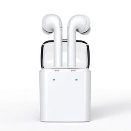 Wholesale Dacom MINI Double ear Wireless Bluetooth Headset True Wireless Technology Sport Earphone For iphone airpods s xiaomi