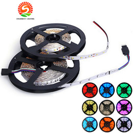3528 SMD 5M 300 600 Leds Waterproof flexible led strips light 12V 60LEDs m 120LEDs m for Christmas lights