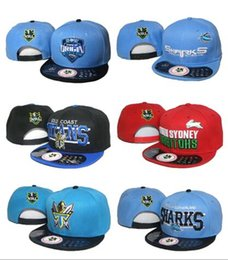 Wholesale 2017 NRL Cap Hat Baseball snapback hats for man With Logo Tags Football Helmet Outdoor Sports Hat NRL Ladder Mix Order