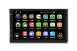 Wholesale Rockchip Cortex A9 Quad Core Android voiture universelle dvd gps navigation avec voiture Radio Bluetooth G WIFI GB ROM voiture DVD