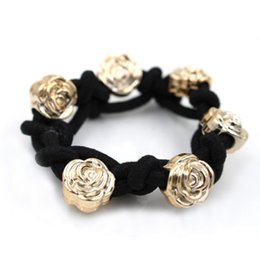 Girls hand woven band Rose Hair rope FS00119