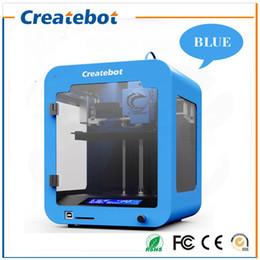 Wholesale createbot super mini metal d printer Children s gift cheap d printer price Popular Series mm d Printing Machine