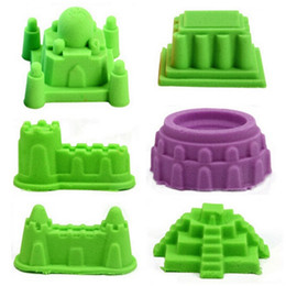 Wholesale Building Castle Mold Tool Sand Indoor Play Cay Novelty Magic Beach Mold Seaside Summer Toy Build Model Toy Gifts