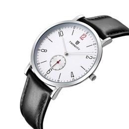 BRW TWINCITY marca ultra delgada reloj de cuarzo de los hombres reloj de pulsera casual delgado analógico mujeres reloj de cuarzo de los hombres Relojes Hombre