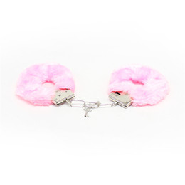 BDSM Furry Bondage Wrist Cuffs for Sex Adult Play Games Manacle Role Play Tool Sexy Toys
