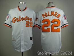 Wholesale 2016 Majestic Jim Palmer Jersey Baltimore Orioles Throwback Baseball Jersey White Orange Cream Black
