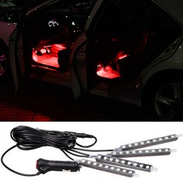 4x9LED Car SUV Interior Light Atmosphere Decorative Led Light For Porsche Cayenne Macan Macan S Panamera 911
