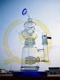 2017 aparejo de jaula Bong de cristal de la corona Venta caliente 12
