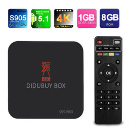 2017 Dragon Box S95PRO Android TV Box S905 1G+8G WIFI 4K Kodi Box Fully Loaded Support ShowBox Mobdro Netflix Youtube For Sports Movies