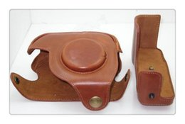 Camera Leather Case Bag Smooth Leather Bag Case Cover For Canon G11 G12Case