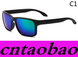 Promotion HOT SALE Brand Polarized Sunglasses Men Women's Sport Cycling Glasses Eyewear Goggles Eyewear 10 color options MOQ=10pcs