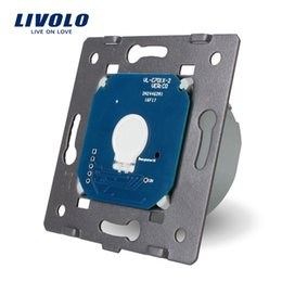 Free Shipping, Livolo Manufacturer, EU Standard, The Base of Touch Screen Wall Light Switch, VL-C701,110~250V wholesale