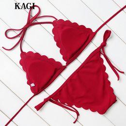 Brand Bikini 2017 Swimwear Women Swimsuit Bathing Suit Sexy Bikinis Set Push Up Swim Wear Swim Suit Beachwear red color New Design