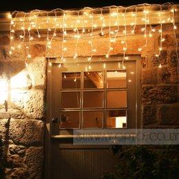 Luces de hadas blancas con pilas en venta-Wholesale-16ft 50 LEDS cálido blanco luces estrelladas luces de hadas de cobre LED luces AA batería alimentado cable de micro cordón con CE ROSH