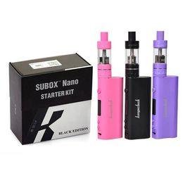 Kanger Subox Nano Starter Kit With 3ml Subtank Nano Tank And 50W Kangertech Kbox Mod Electronic Cigarette Kit VS Subox mini Kits