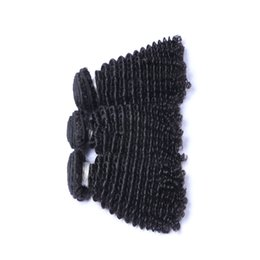 Natural Color Human Hair Extensions Brazilian Virgin Hair Kinky Curly weave 3 Bundles 10-26inch Good Quality Hair Products