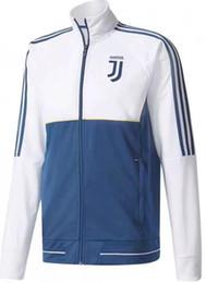 2017 2018 Real Madrid Long Sleeve Jacket 17 18 Chelsea Dortmund Ajax AC Milan Bayerns juve Survetement football tracksuit jacket tops